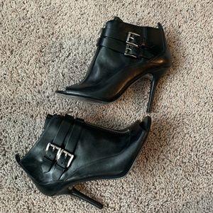 Michael Kors peep toe boots